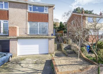 Thumbnail 3 bed semi-detached house for sale in Haymoor Road, Parkstone, Poole