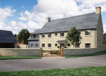 Thumbnail 5 bed detached house for sale in St. James Way, West Hanney, Wantage