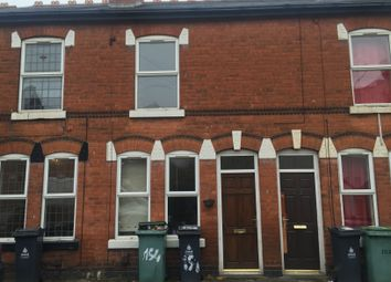 Thumbnail 2 bed terraced house to rent in Whitehall Road, Walsall, West Midlands