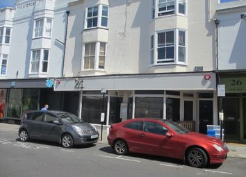 Thumbnail Restaurant/cafe to let in 24 -25 St George's Road, Brighton