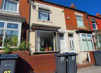 Thumbnail 2 bed terraced house for sale in Willes Road, Hockley, Birmingham