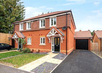 Thumbnail 2 bed semi-detached house for sale in Longwood Copse Lane, Beggarwood, Basingstoke