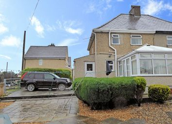 Thumbnail 3 bed end terrace house for sale in Cremlyn, Bethel, Caernarfon