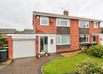 Thumbnail 3 bed semi-detached house for sale in St. Barnabas, Bournmoor, Houghton Le Spring
