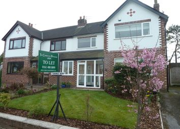 Thumbnail 3 bed semi-detached house to rent in Brinkburn Road, Hazel Grove, Stockport