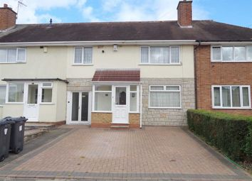Thumbnail 3 bed terraced house for sale in Turnley Road, Shard End, Birmingham