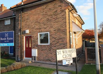 Thumbnail 2 bedroom property for sale in St. Wilfrids Close, Strensall, York