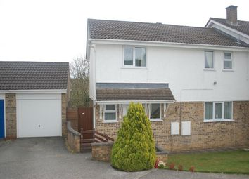 Thumbnail 3 bed semi-detached house for sale in Park Way, St Austell, Cornwall