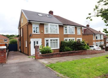 Thumbnail 4 bed semi-detached house for sale in Beatty Avenue, Heath, Cardiff