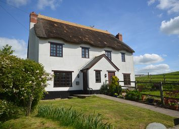 Thumbnail 3 bedroom semi-detached house for sale in Court Barton Cottages, Newton St Cyres, Near Exeter