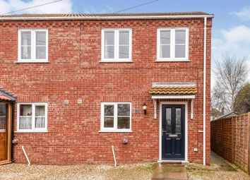 Thumbnail 2 bed semi-detached house for sale in Elm Low Road, Elm, Wisbech