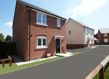 Thumbnail 3 bedroom detached house for sale in Off Cropston Road, Anstey