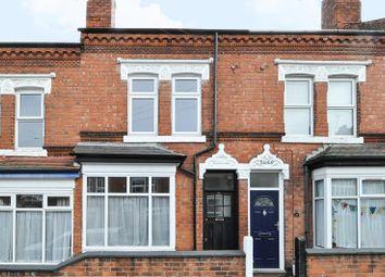 Thumbnail 2 bedroom terraced house for sale in Regent Street, Stirchley, Birmingham