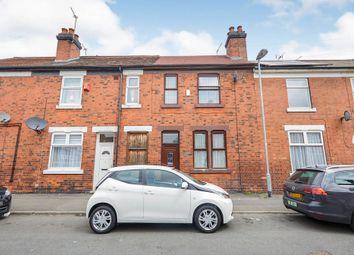 Thumbnail 2 bed terraced house for sale in Walker Street, Burton-On-Trent