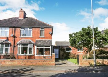 Thumbnail 3 bed semi-detached house for sale in Blackwell Road, Carlisle