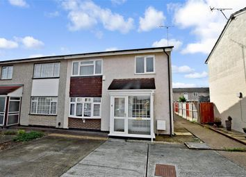 Thumbnail 3 bed end terrace house for sale in Haslemere Road, Wickford, Essex