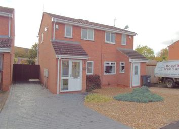 Thumbnail 2 bed semi-detached house for sale in The Poppins, Leicester, Leicestershire