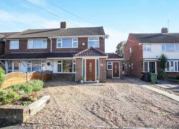 Thumbnail 3 bed semi-detached house for sale in Elm Avenue, Caddington, Luton