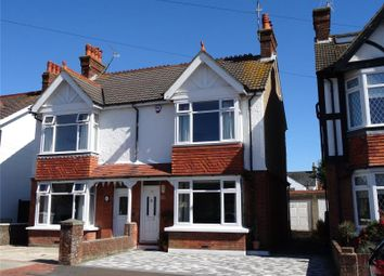 Thumbnail 3 bed semi-detached house for sale in Northfield Road, Tarring, Worthing