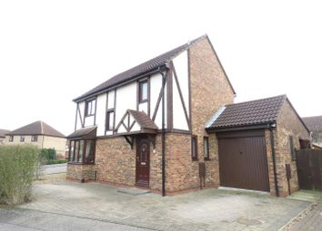 Thumbnail 4 bedroom detached house for sale in Barnard Close, Eynesbury, St. Neots