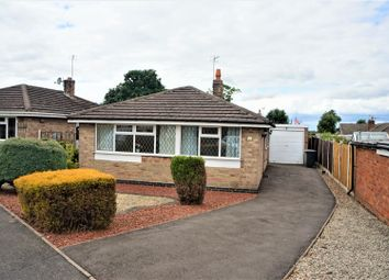 Thumbnail 2 bed detached bungalow for sale in Vicarage Close, Newbold Coleorton, Coalville