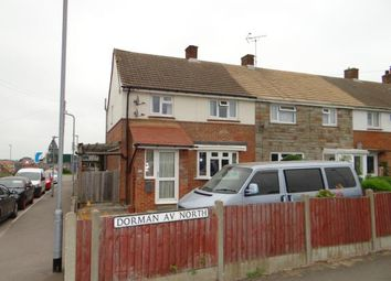 Thumbnail 3 bedroom end terrace house for sale in Dorman Avenue North, Aylesham, Canterbury, Kent