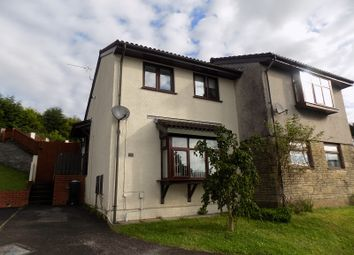 Thumbnail 2 bed semi-detached house for sale in Bay View Gardens, Skewen, Neath, Neath Port Talbot.