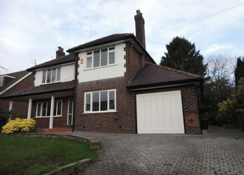 Thumbnail 4 bed detached house for sale in Hillcourt Road, Romiley, Stockport
