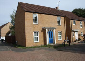 Thumbnail 3 bed detached house to rent in Sycamore Covert, Thetford