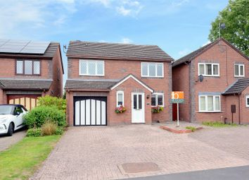 Thumbnail 4 bed detached house for sale in Carlton Close, Bicton Heath, Shrewsbury