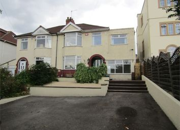 Thumbnail 4 bed semi-detached house for sale in West Town Lane, Knowle, Bristol