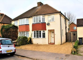 Thumbnail 3 bed semi-detached house to rent in Rusham Park Avenue, Egham