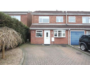 Thumbnail 3 bed terraced house for sale in Blackburn Road, Barwell, Leicester