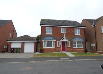 Thumbnail 4 bed detached house for sale in Carnoustie Close, Ashington