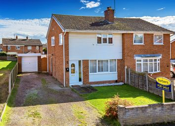 Thumbnail 3 bedroom semi-detached house for sale in Strine Close, Wellington, Telford, Shropshire