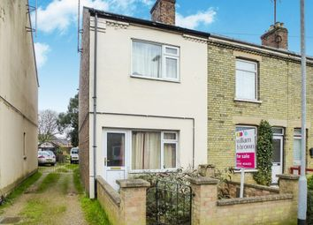 Thumbnail 3 bed end terrace house for sale in Osborne Road, Wisbech
