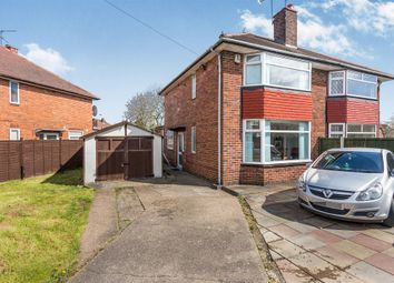 Thumbnail 2 bedroom semi-detached house for sale in Coleridge Street, Sunnyhill, Derby