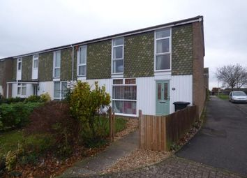 Thumbnail 3 bed end terrace house for sale in Newton Road, Duston, Northampton, Northamptonshire