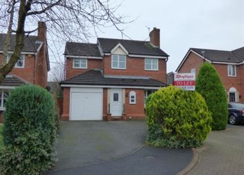 Thumbnail 4 bed detached house to rent in Marwood Close, Altrincham