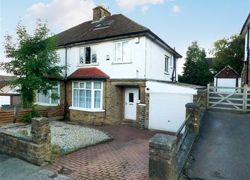 Thumbnail 3 bed semi-detached house for sale in Nab Wood Road, Nab Wood, Shipley