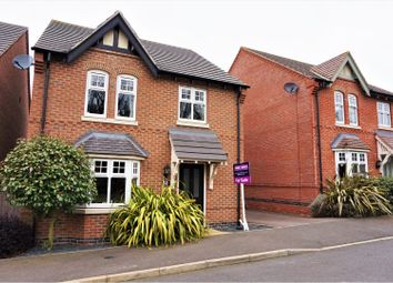 Thumbnail 4 bed detached house for sale in Reading Avenue, Swadlincote