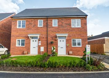 Thumbnail 3 bedroom semi-detached house for sale in Pattens Close, Whittlesey, Peteborough