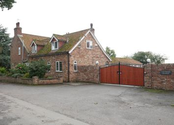 Thumbnail 4 bed detached house for sale in Common Lane, North Cave, Brough