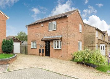 Thumbnail 3 bed detached house for sale in Hexham Gardens, Racecourses, Milton Keynes