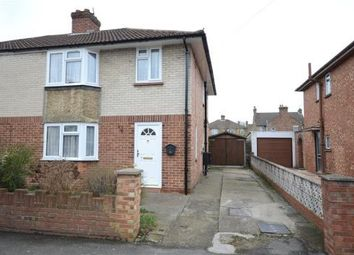 Thumbnail 3 bed semi-detached house for sale in Institute Road, Aldershot, Hampshire