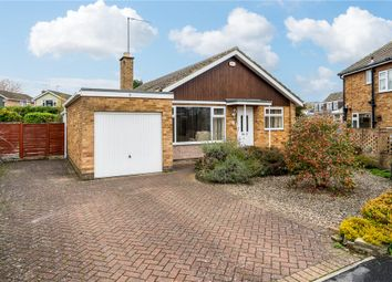 Thumbnail 3 bed detached bungalow for sale in Aspin Grove, Knaresborough, North Yorkshire