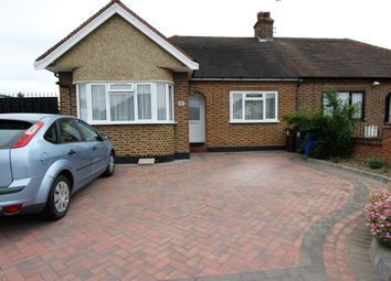 Thumbnail 2 bed semi-detached bungalow to rent in Meadow Road, Grays