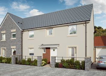 "Thumbnail 3 bed semi-detached house for sale in ""The Rowan"" at Mill Lane, Bitton, Bristol"