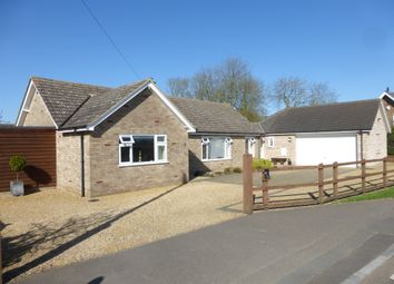 Thumbnail 3 bed detached bungalow for sale in Station Road, Holme, Peterborough
