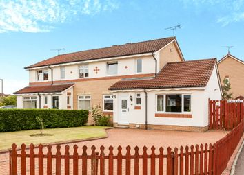 Thumbnail 4 bed semi-detached house for sale in Glaive Avenue, Stirling